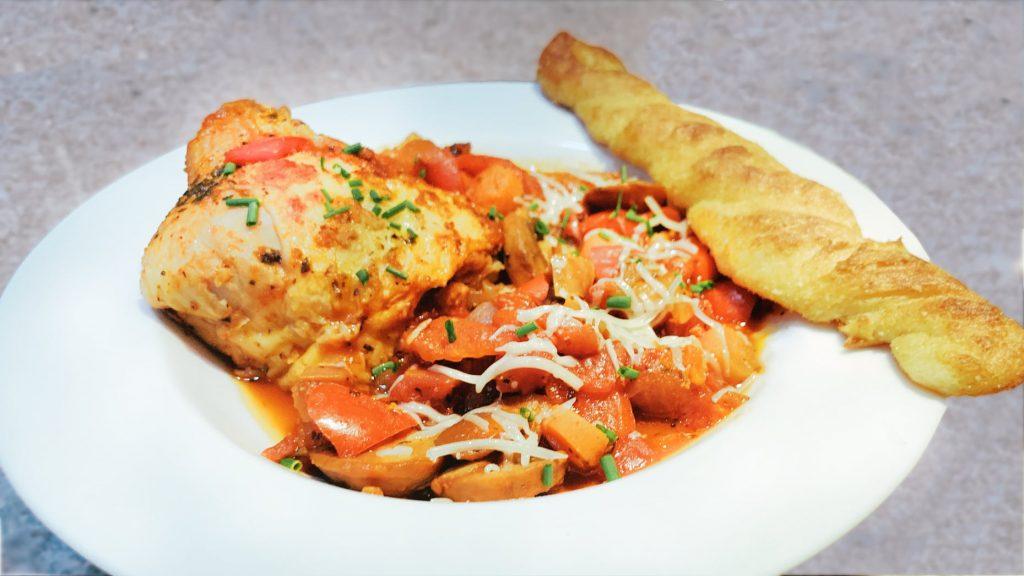 Chicken Cacciatore Recipe in the Instant Pot
