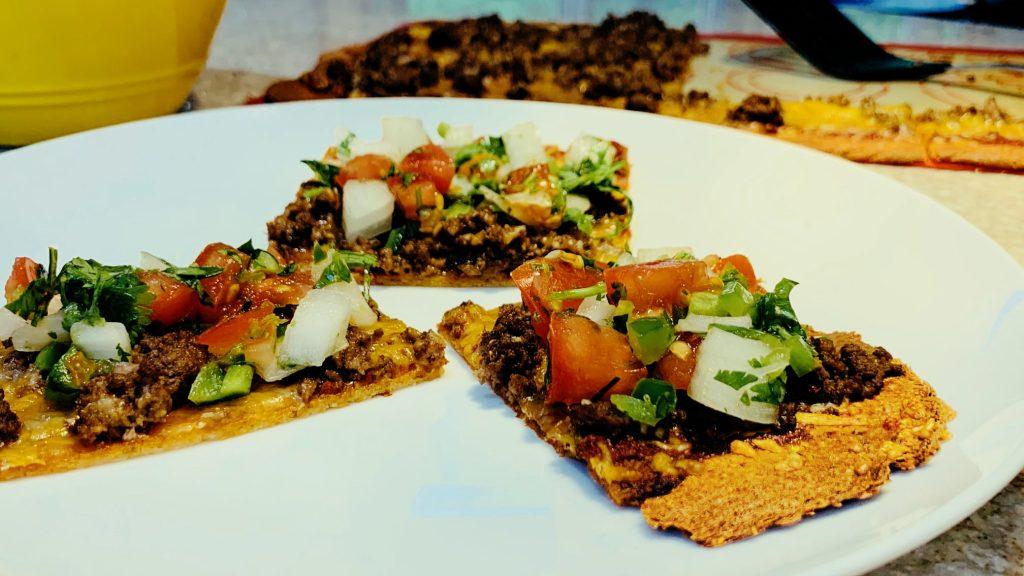 Low Carb Fiestada Pizza Recipe