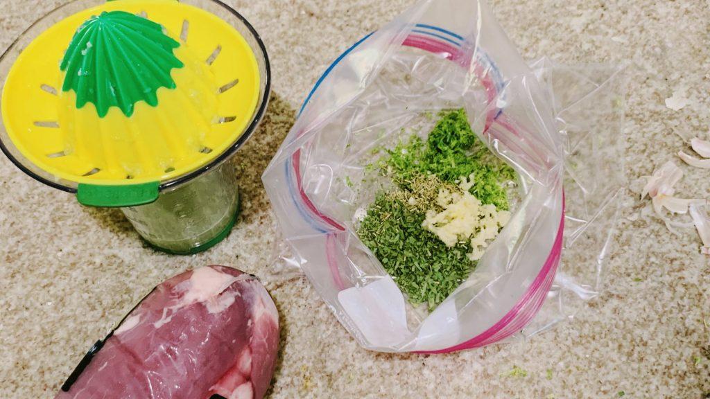 Garlic Herb Marinade for Pork Tenderloin