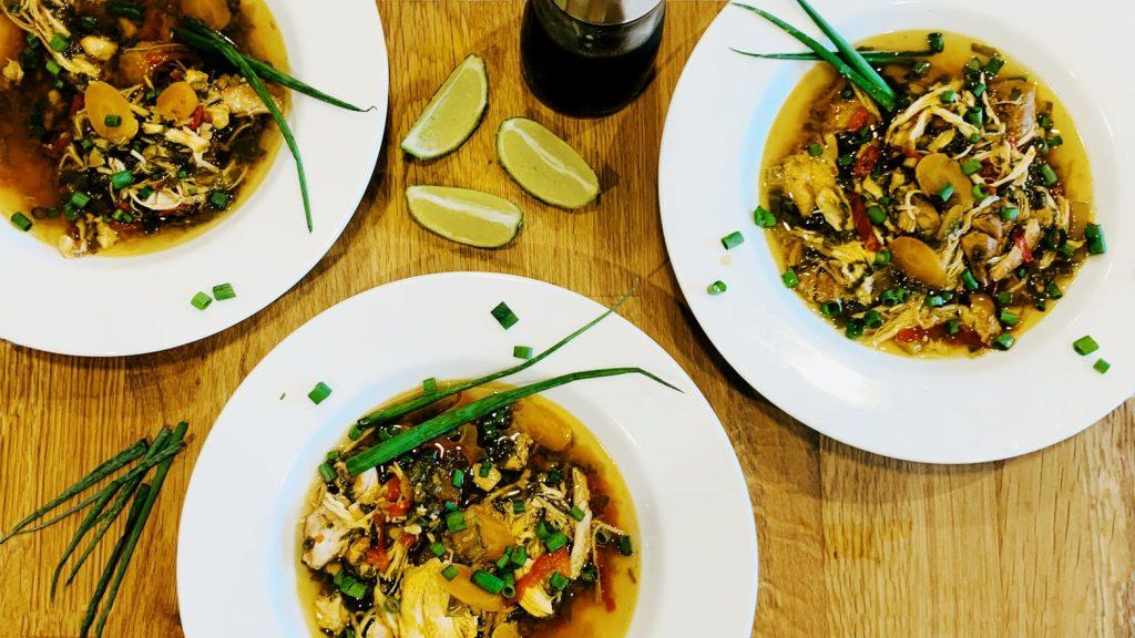 Instant Pot Thai Lemongrass Soup