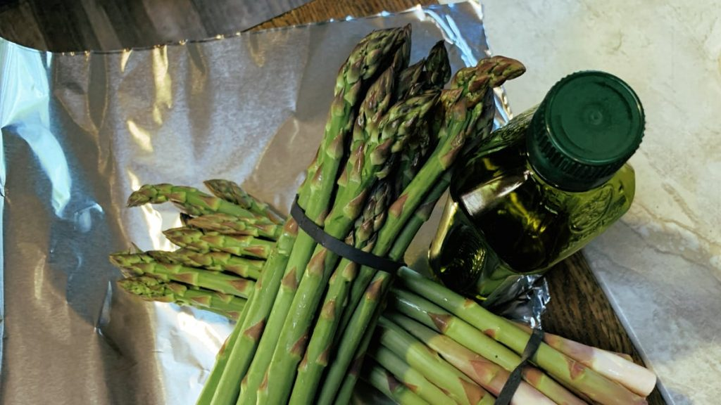 Asparagus and Olive Oil