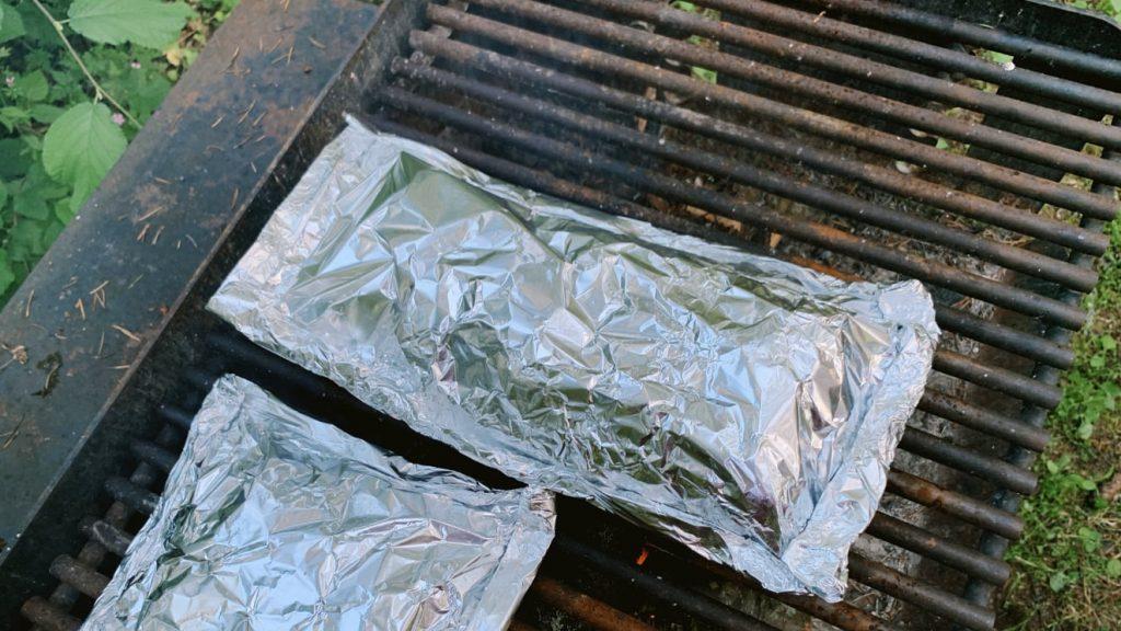 Grilled Asparagus Recipe Foil