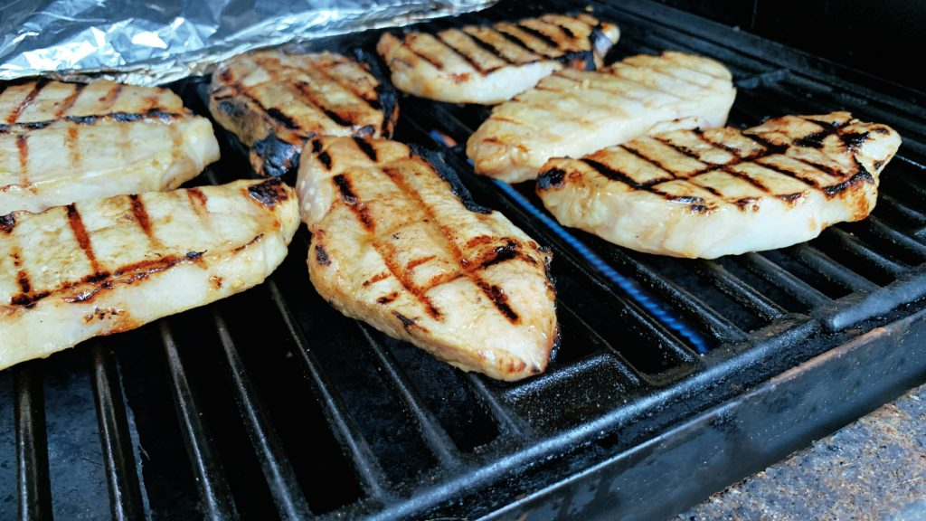 Pork Loin Chops on the Grill