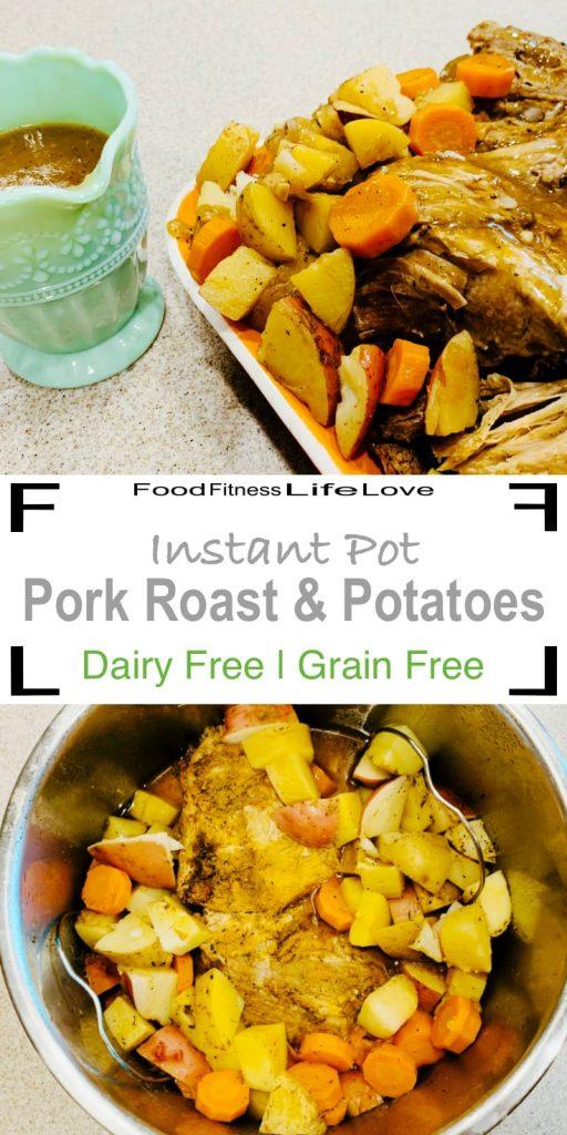 Instant Pot Pork Roast and Potatoes Pin