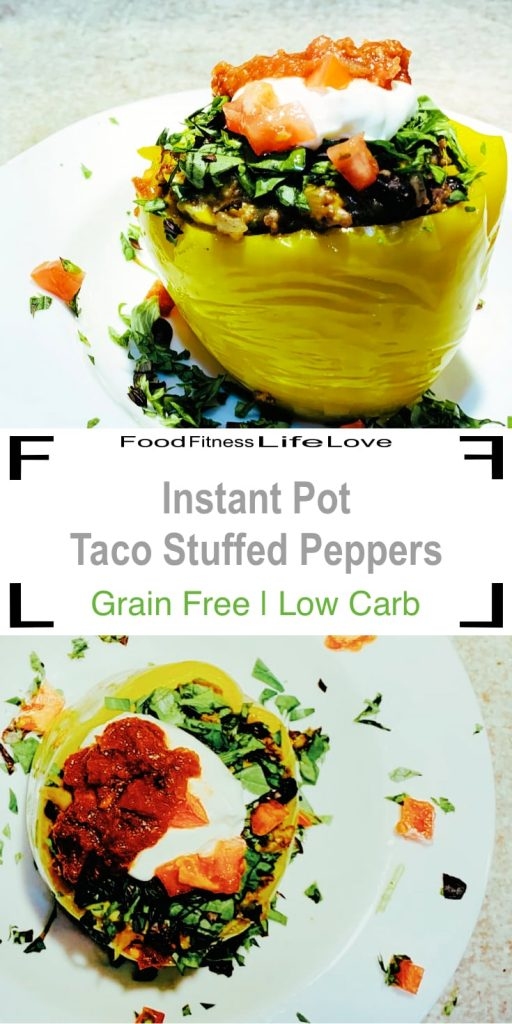 Instant Pot Stuffed Peppers Pin
