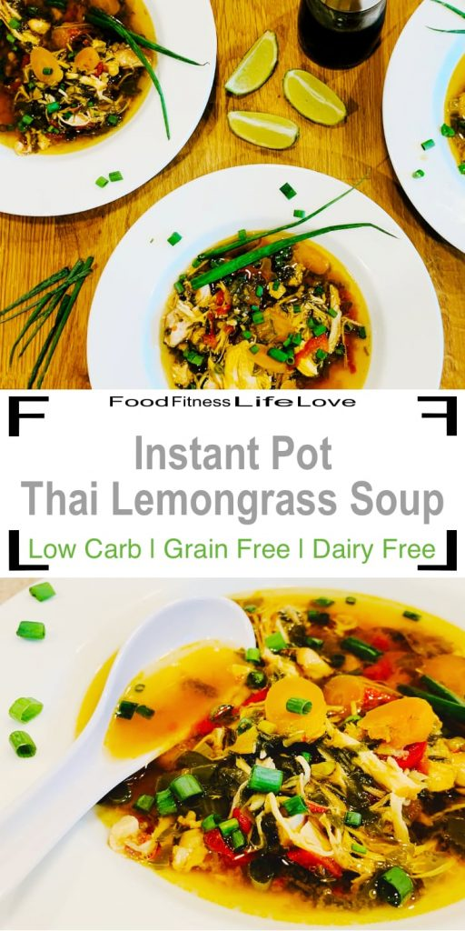 Instant Pot Thai Lemongrass Soup Pin