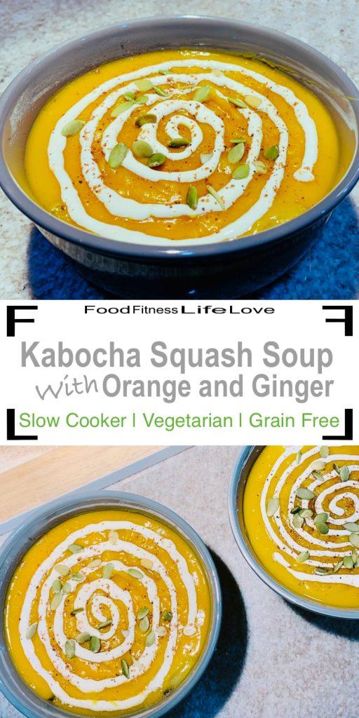 Kabocha Squash Soup Recipe Pin