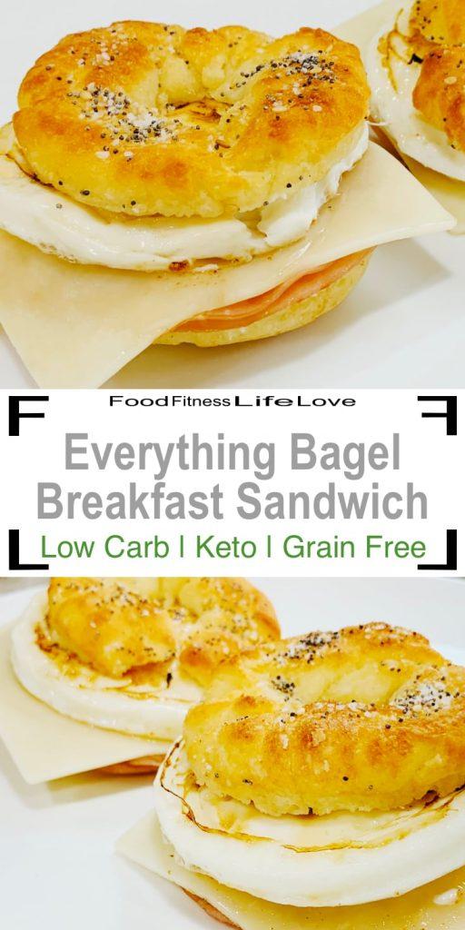 Keto Breakfast Sandwich Pin
