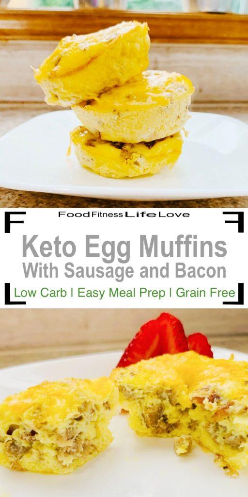 Keto Egg Muffin Pin
