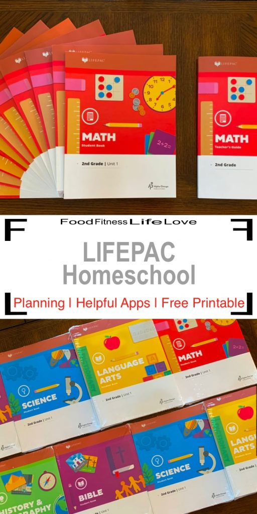 Lifepac Homeschool Pin
