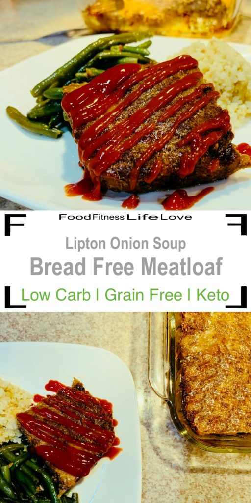 Lipton Onion Soup Meatloaf Recipe Pin