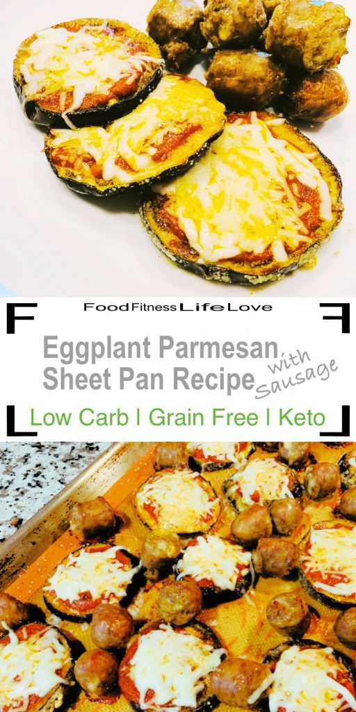Low Carb Eggplant Parmesan Pin