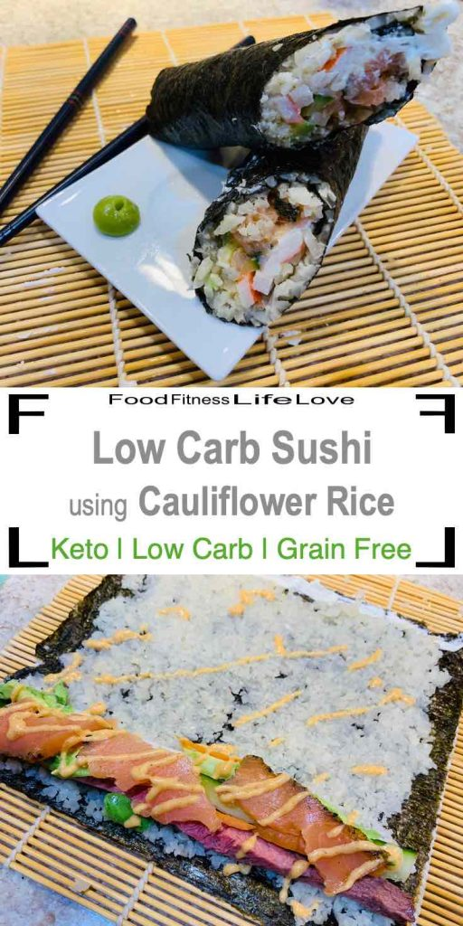 Low Carb Sushi Pin