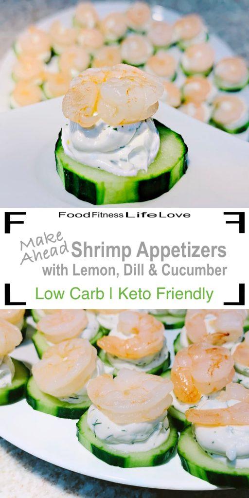 Make Ahead Shrimp Appetizers Pin