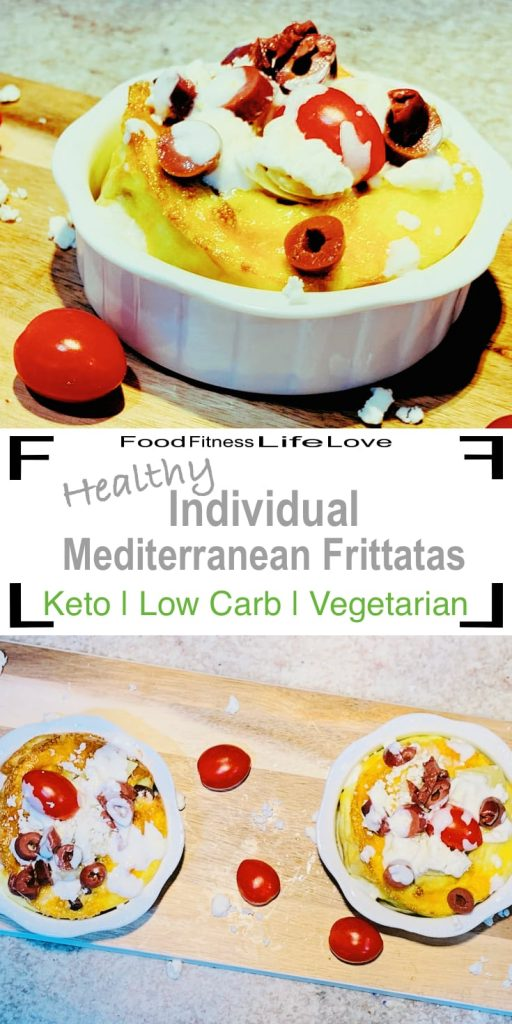 Healthy Individual Mediterranean Frittata Recipe With Artichokes Ffll