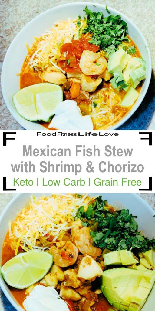 Mexican Fish Stew Recipe Pin
