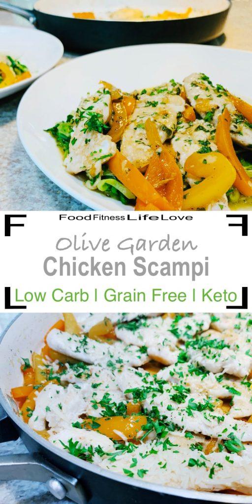Olive Garden Chicken Scampi Pin