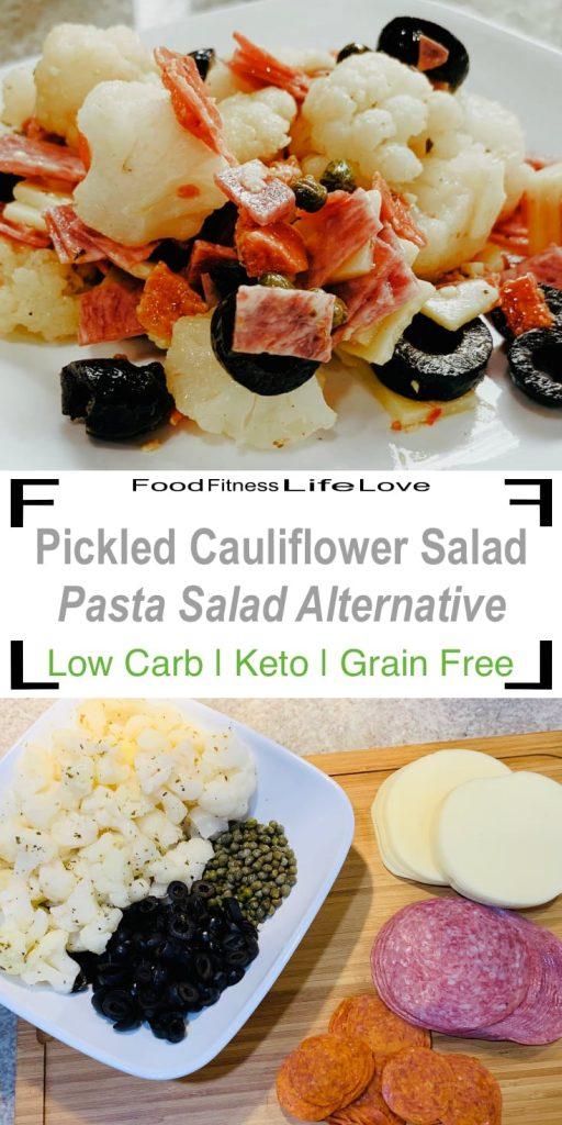 Pickled Cauliflower Salad Pin