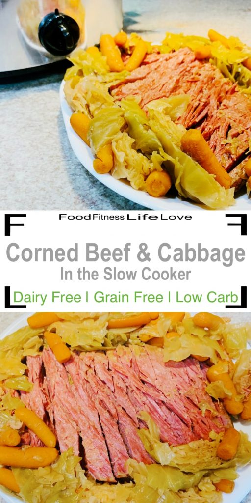 Recipe For Corned Beef and Cabbage Pin