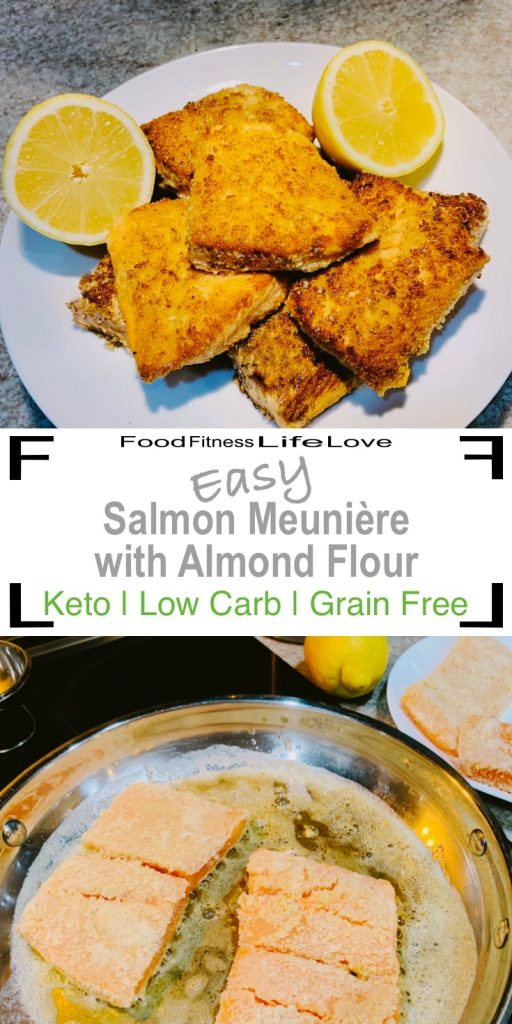 Salmon Meuniere Recipe Pin
