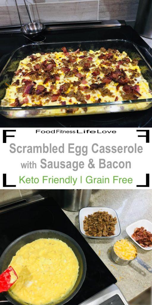 Scrambled Egg Casserole Pin