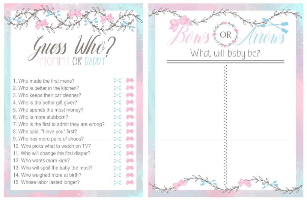 Bows or Arrows Party Game