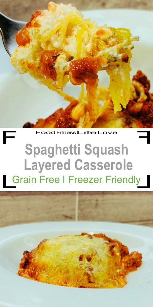 Spaghetti Squash Casserole Pin