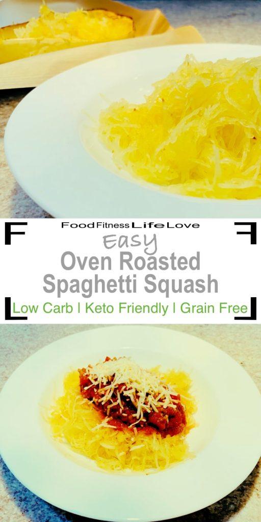 Spaghetti Squash Recipe Oven Pin