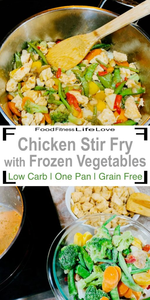 Stir Fry with Frozen Vegetables Pin