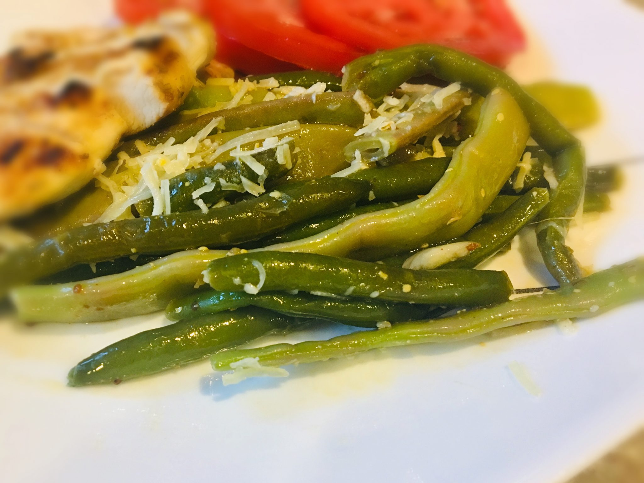 Green Beans with Red Wine Vinaigrette